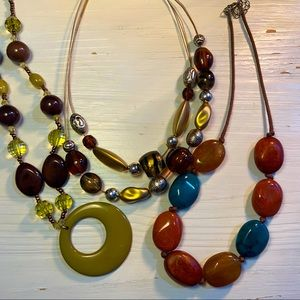 Lot of 3 necklaces!